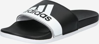 fekete / fehér ADIDAS PERFORMANCE Strandcipő 'ADILETTE', Termék nézet
