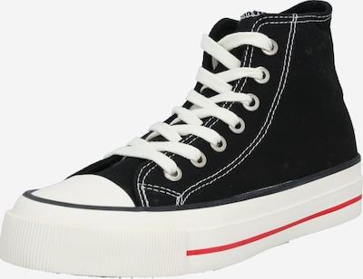 rubi Sneaker 'BRITT' in schwarz / weiß, Produktansicht
