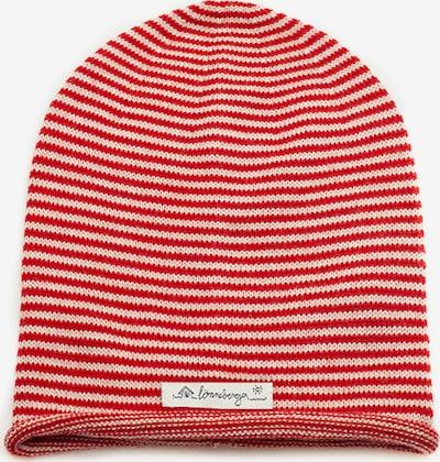 Lönneberga Mütze 'Saga' in rot, Produktansicht
