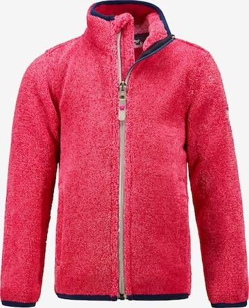 KILLTEC Athletic Fleece Jacket 'TWINKLY' in Pink