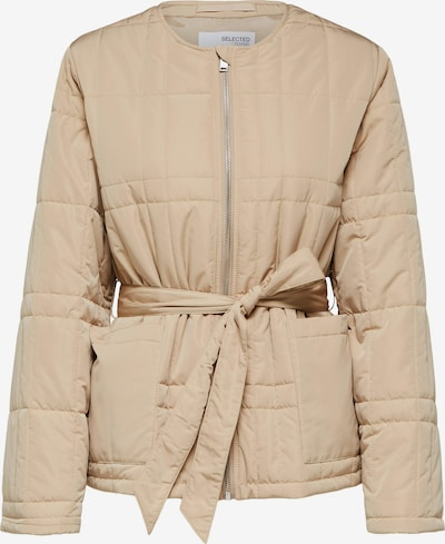 SELECTED FEMME Jacke 'Plastic Change' in beige, Produktansicht