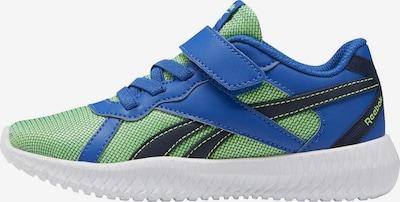 REEBOK Sneakers in de kleur Blauw / Groen: Vooraanzicht