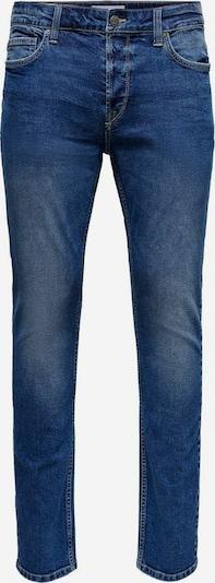 Only & Sons ONSLoom Life Slim Slim Fit Jeans in blue denim, Produktansicht
