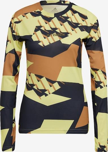 adidas Terrex Langarmshirt in gelb, Produktansicht
