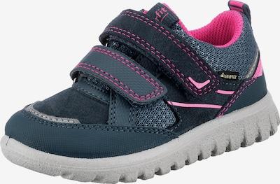 SUPERFIT Schuh in blau / pink, Produktansicht