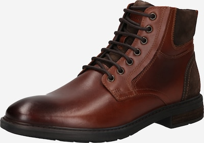 GEOX Lace-up boots 'VIGGIANO' in Brown / Chestnut brown, Item view