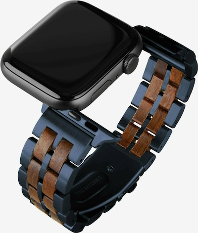 LAiMER Armband in nachtblau / braun, Produktansicht