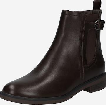 ESPRIT Chelsea Boots 'Audrey' in Brown