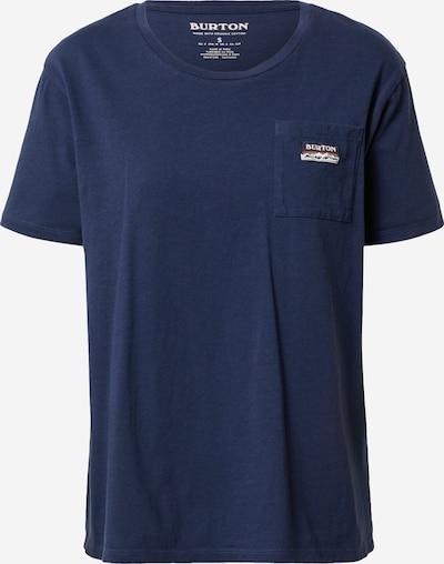 BURTON T-shirt fonctionnel en bleu nuit / noir / blanc, Vue avec produit