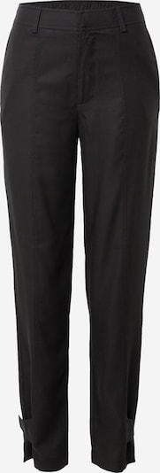 Samsoe Samsoe Pantalon à plis 'Citrienne' en noir, Vue avec produit