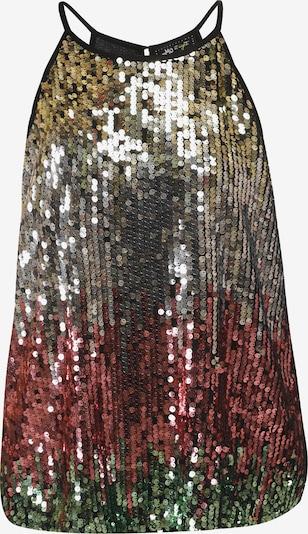 myMo at night Blouse in de kleur Groen / Bordeaux / Zwart / Zilver, Productweergave