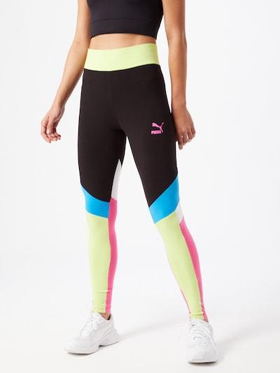 PUMA Sporta bikses jauktu krāsu, Modeļa skats