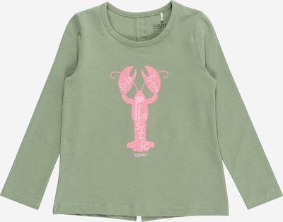 ESPRIT KIDS Camiseta en caqui / rosa, Vista del producto