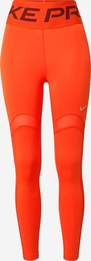 NIKE Pantalon de sport en orange / argent, Vue avec produit