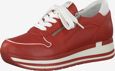 MARCO TOZZI Sneakers low in Rusty red / White, Item view