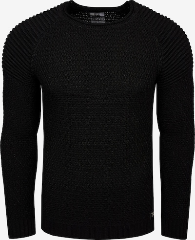 Rusty Neal Pullover in schwarz, Produktansicht