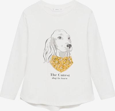 MANGO KIDS T-Shirt 'BROOK' in nude / gelb / schwarz, Produktansicht