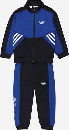 Tuta da jogging ADIDAS ORIGINALS di colore blu / nero / bianco, Visualizzazione prodotti
