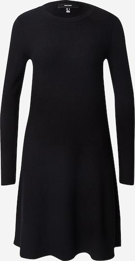 Megzta suknelė iš VERO MODA , spalva - juoda, Prekių apžvalga