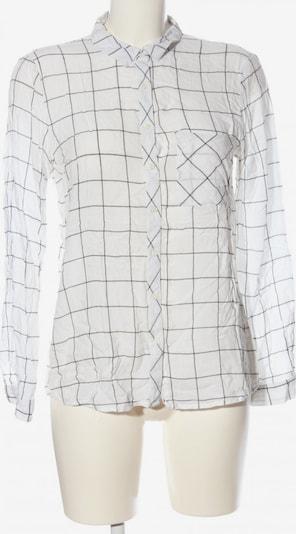 Pull&Bear Hemd-Bluse in L in schwarz / weiß, Produktansicht