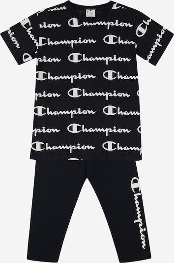 Champion Authentic Athletic Apparel Set en bleu nuit / blanc, Vue avec produit