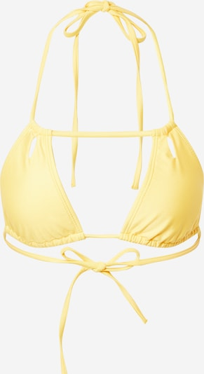 Public Desire Bikinitop in de kleur Safraan: Vooraanzicht