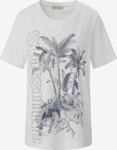 MARGITTES Shirt in de kleur Blauw / Wit, Productweergave