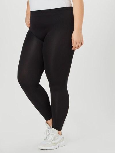 Zizzi Leggings in schwarz, Modelansicht