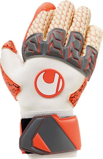 UHLSPORT Handschuh in orange / weiß, Produktansicht