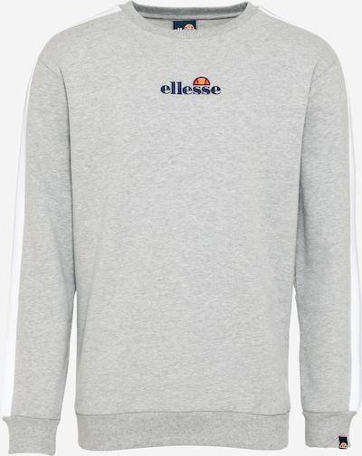 ELLESSE Sweatshirt 'Buralto' in nachtblau / hellgrau / orange / orangerot / weiß, Produktansicht