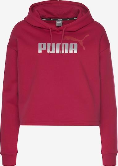 PUMA Sweatshirt in Red / Silver, Item view