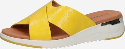 CAPRICE Pantolette in gelb, Produktansicht