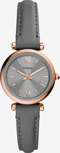 FOSSIL Uhr in gold / dunkelgrau, Produktansicht