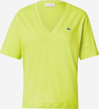 LACOSTE T-shirt en jaune citron, Vue avec produit