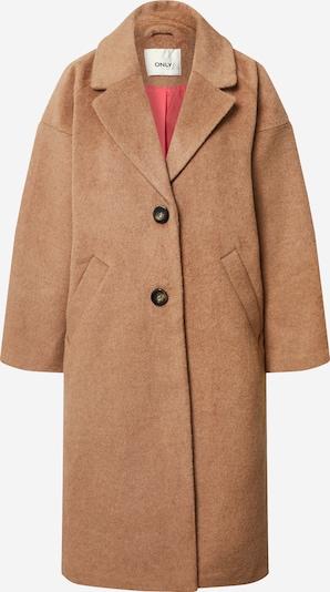 ONLY Manteau mi-saison en marron, Vue avec produit