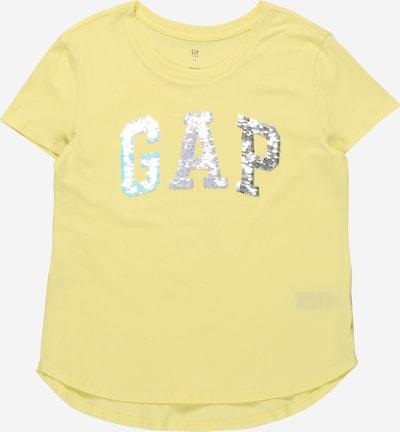 GAP Camiseta en turquesa / amarillo / plata / blanco, Vista del producto