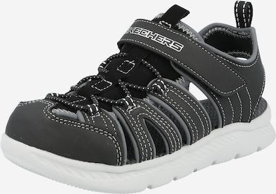 Atviri batai iš SKECHERS , spalva - pilka / juoda, Prekių apžvalga