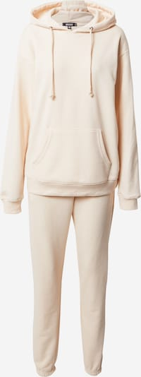Missguided Jogginganzug in beige, Produktansicht