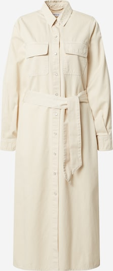 EDITED Shirt dress 'Leilan' in White denim, Item view