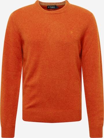 Hackett London Pullover in Orange