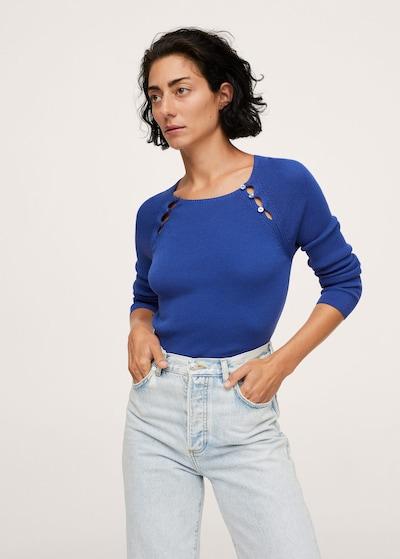Pulover 'Parker' MANGO pe albastru neon, Vizualizare model