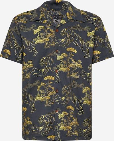King Kerosin Hemd 'Asian Tiger' in gelb / schwarz, Produktansicht