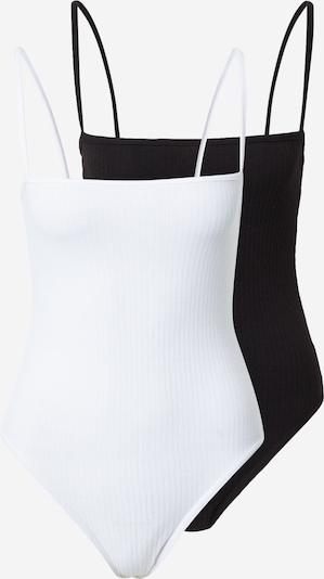 Missguided Košeľové body - čierna / biela, Produkt