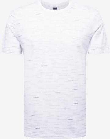 BOSS ATHLEISURE Тениска в бяло