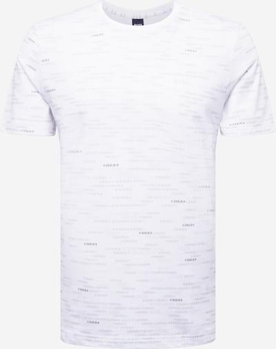 BOSS ATHLEISURE Paita värissä laivastonsininen / valkoinen, Tuotenäkymä