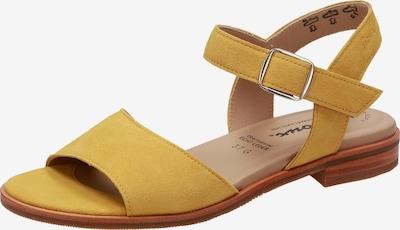 SIOUX Sandale ' Cosinda-701 ' in gelb, Produktansicht