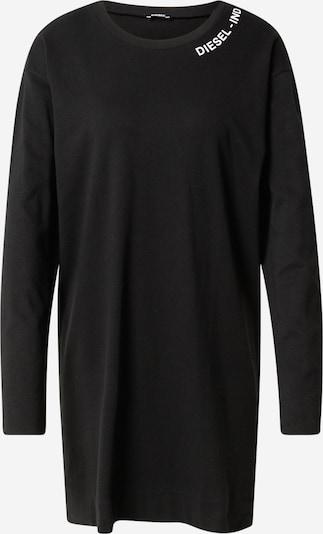DIESEL Chemise de nuit en noir / blanc, Vue avec produit