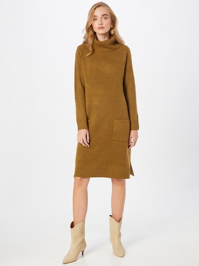 Cartoon Pletené šaty - hnedá melírovaná, Model/-ka