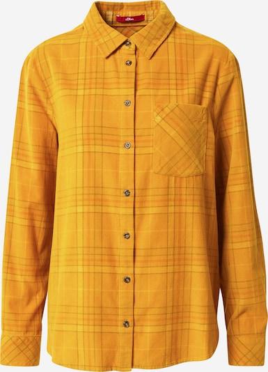 s.Oliver Bluse in gelb, Produktansicht