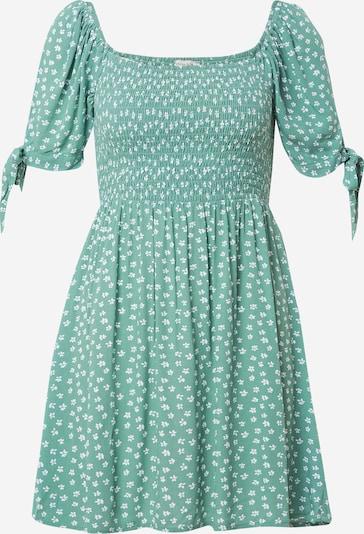 American Eagle Kleid in grün / weiß, Produktansicht